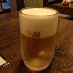 はじめの一歩 - 2016年07月20日  生ビール