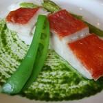 53854752 - 金目鯛のロースト 旬野菜のソース