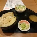 さかなや道場 - 煮穴子丼(\650)