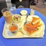 Gyararikohitenkosedo - シナモントースト+アイスカフェオレ