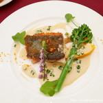 レグリーズ 鎌倉 - 鮮魚の料理 鎌倉野菜の温製添え