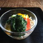 53858879 - 夏野菜蕎麦