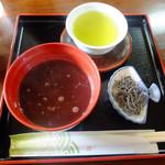 百福 - 料理写真:ぜんざい
