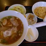 三福 - ラーメン定食(チャーハン選択)