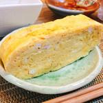 和ビストロ ハク - しっかり頂いてみればインパクトだけでは無くしっかり和食の玉子焼きで軽い甘味が本当にお上品!って技術凄くない??
