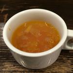 53867854 - ランチに付くスープ