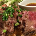 53867857 - 牛もも肉とトモバラ肉