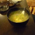 焼肉つるや橿原 - 卵スープ 絶品!!