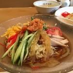 中央軒 - 冷麺(冷やし中華)定食