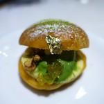 サロン ベイクアンドティー - 抹茶と柚子のトロペジェンヌ