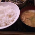 53874133 - ご飯と味噌汁