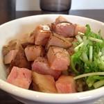 麺~leads~なかの - セットの炙りチャーシューめし  350円