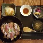 53875535 - ステーキ丼 セット