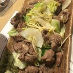 日本酒×北海道食材 地元家 - ジンギスカン