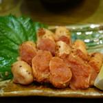 魚伝 - 2016.07 炙り明太子(税別518円)