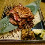 魚伝 - 2016.07 厚切り牛タン(税別1814円)