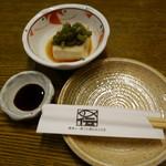 魚伝 - 2016.07 つきだし(税別486円)