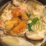 杉ノ目 - [煮物] 蟹とうにの小鍋仕立て