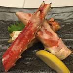 杉ノ目 - [焼き物] 焼きたらば蟹