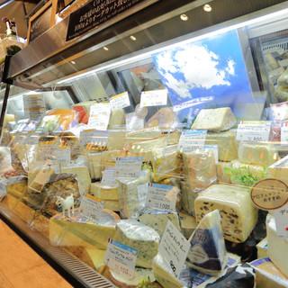 直輸入のハム&チーズ