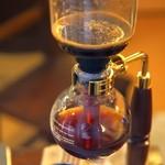 ドライブステイみやま - サイフォンで入れるコーヒー