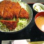 5388264 - 憧れのソースかつ丼(大盛り)(1,200円)