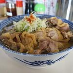 麺屋 にぼすけ本舗 - 冷たい肉蕎麦(大盛)
