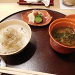 ふじ原 - ご飯