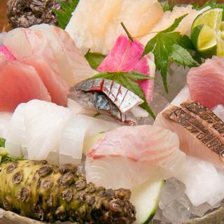 新鮮な魚をご堪能いただけます!