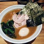 横浜家系ラーメン 満月家 - 【味玉ラーメン】¥750