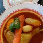 53887632 - チキン野菜 辛さ50