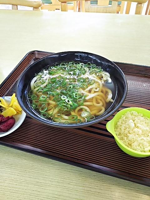 麺勝 青葉店 - かけうどん230円+天かす20円