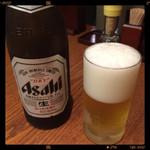 杵屋 - 取り合えずビール!?
