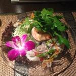 53891092 - タイ風春雨サラダ