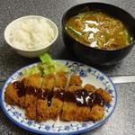 ひかり食堂 - 料理写真:カレーうどんセット950円(税込)が完成!!!