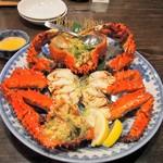 53896408 - 花咲ガニ・姿、カニ酢