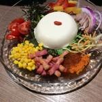 53897213 - 有機豆腐のおっぱいサラダ