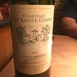 LE SEVERO - 赤ワイン ボルドー 6500円