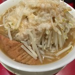 53898770 - ラーメン【野菜、アブラ】(730円)