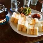 cafe マロニエ - 料理写真:たまごサンドブランチ