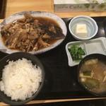 千里浜 - あら煮定食 850円