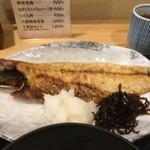 千里浜 - 今回は鯖でした