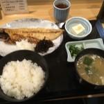 千里浜 - 焼魚定食 800円