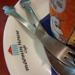 Muminhausukafe - にょろにょろフォークとスプーンは販売されていました