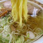 りんさん - 塩ラーメンの麺
