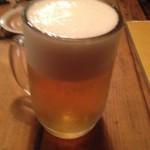 駒沢 ひろの亭 - 生ビール