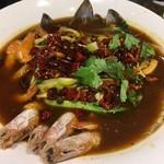 家宴 - 四川風海鮮煮込み