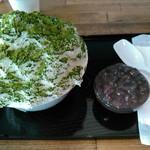 氷伝 - 料理写真:抹茶(小)
