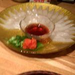 九州屋 - イカ刺し
