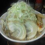 石鍋つけ麺 あつあつ - ガチもり醤油味(700円)